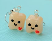Tooth Dangle Earrings