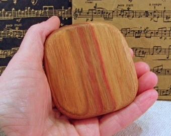 Music Rattle, Magnolia Wood, teacher gift, eco gift, musician, relaxation gift, meditation, naturalist, desk toy, stress, stocking stuffer