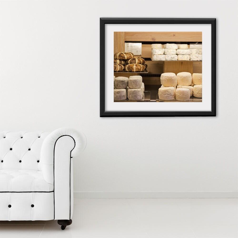 "Paris Photography, ""Still Life Cheese"" Paris Print Extra Large Wall Art Prints, Paris Wall Decor"