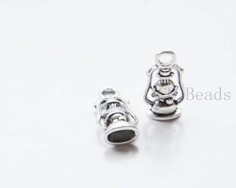 20pcs Oxidized Silver Base Metal Charms- Light 20x10mm (13542Y-E-458)