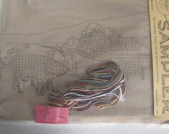 Old Sturbridge Embroidery  Sampler Kit Sealed