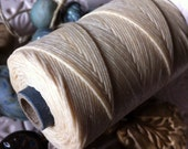 Waxed Linen Cord 5 Yards in Natural