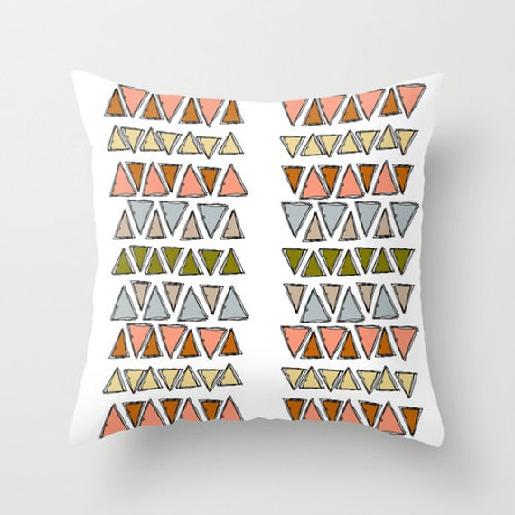 Https Etsy Com Listing 177059212 Geometric Aztec Triangle Home Decor