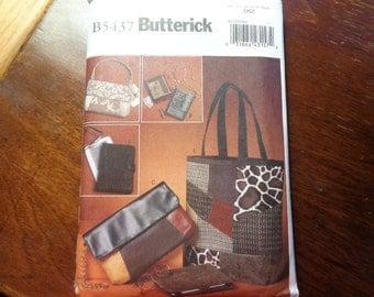Butterick 5437 purse pattern