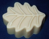 Homemade Goat Milk Lavender Soap - Leaf