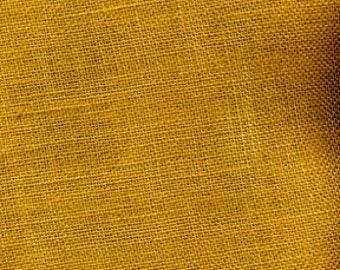 Harvest Gold Burlap Fabric By the Yard - 58 - 60 inches wide