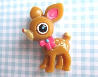 Kawaii Deer Brooch