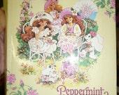 Rare vintage Peppermint Rose photo album mattel