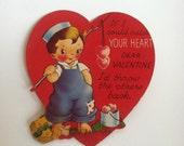 Vintage 1950s Pun Valentines
