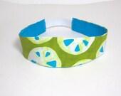 Adult headband - Green Headband - Lime headband - Womens headband