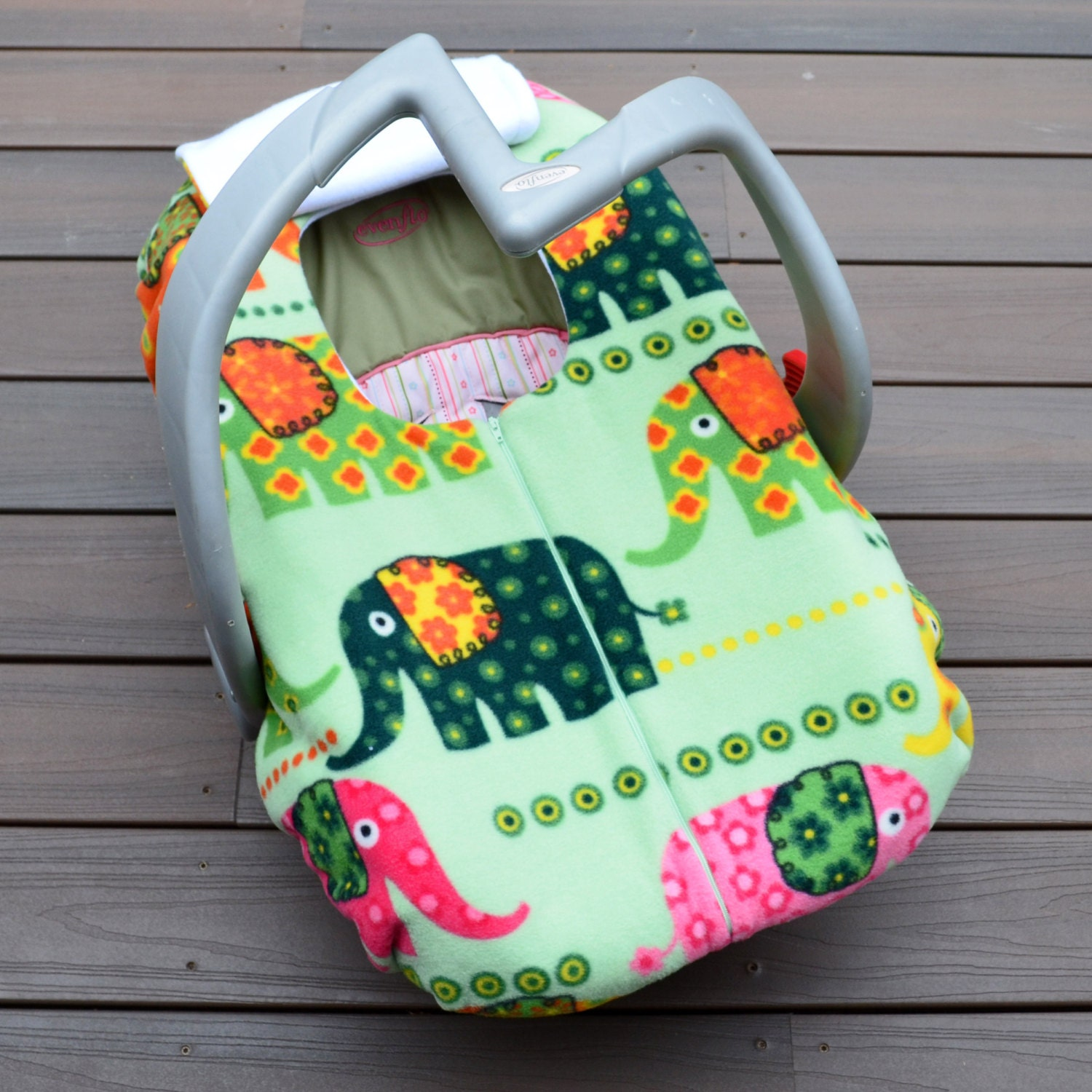 Elephant Car Seat Cover For Winter Baby Middle East Inspired