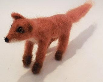 Felted fox  by Carol Monteleoni   (498)