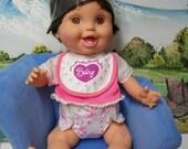 Galoob Bathtub Baby Face Doll Hanna- New