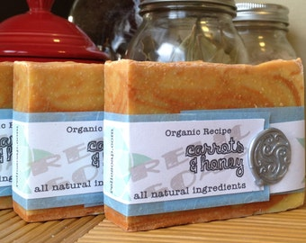Carrots & Honey Organic Artisan Soap