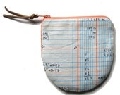 Ledgers Zippered Coin Purse