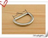 1 inch  (inner diameter)  Nickel alloying D-rings 10pcs 3mm thickness U12