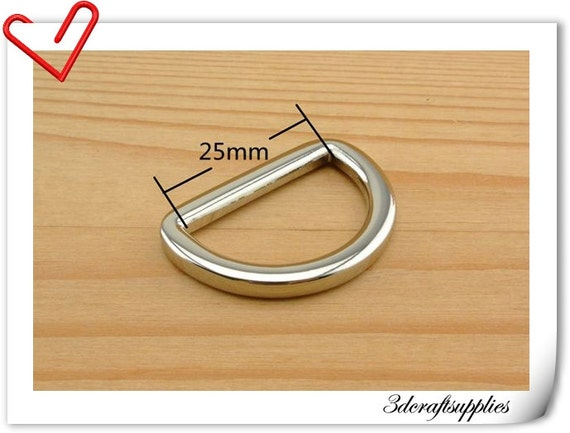 1 inch  (inner diameter)  Nickel alloying D-rings 10pcs 3mm thickness U12