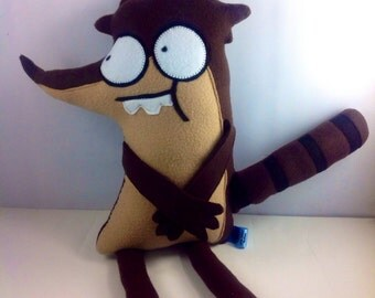Regular Show - Rigby Plush - Made to Order