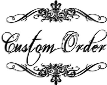 Your Custom Order for LINDA any 12 pc set