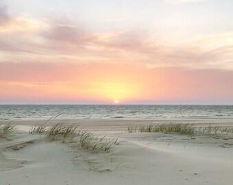 Lake Michigan Magnificence (panoramic) - Michigan Photography