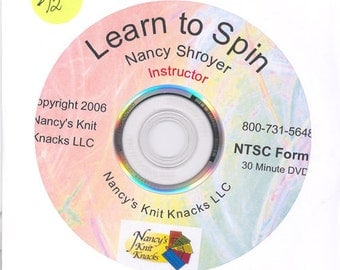 Learn to Spin (on a drop spindle) with Nancy Shroyer