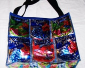GO GREEN Fun Purse made with Recycled Juice Pouches Variety repurposed, upcycled