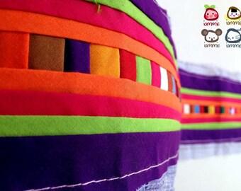Hmong fabric, Hmong Textile, Lisu Textile, fabric, purple, violet, Thai hill tribe, Hmong, Lisu fabric, Crafting, quilt, sewn, craft, bright