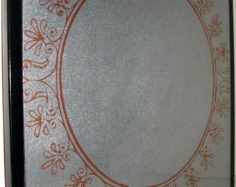 Copper Frame.. Magnet Dry Erase Memo Board / Housewarming Gift / Office Decor / Organization / Desk / Home Office / Wall Decor / Message