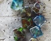 Gypsy Stones Lampwork Glass Beads