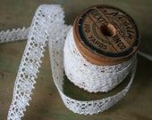 Vintage Off-White LACE - 3 Yards Plus