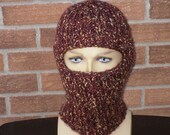 Balaklava/ Ski Mask/Cap Hand Knitted in Wool Blend