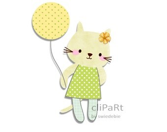 Clip Art K9 - Kayla Beige Kitty (Zakka Styled)