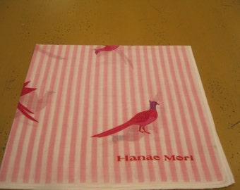 Vintage Hanae Mori handkerchief