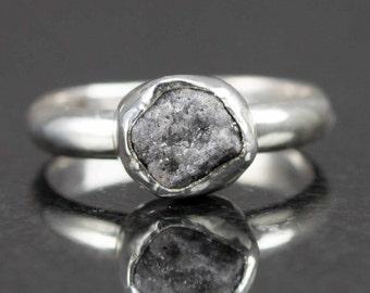 Kay  Diamond Solitaire Ring 13 carat Roundcut 14K White