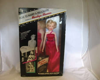 How to Marry a Millionaire - vintage Marilyn Monroe doll