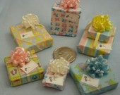 Six Assorted Mini Gift Packages for Baby set 18