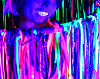 UV Rainbow Fabric Hoop