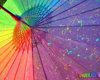 Imagine UV Rainbow Parasol