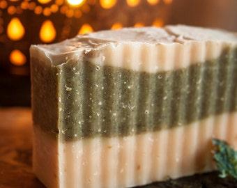 Hawaiian Salt Seaweed - Palm Oil Free, Vegan, Rainforest Friendly made with Certified Organic Vegetable Oils