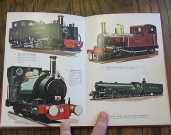 British Steam Locomotives in Color  Vintage book by O.S. Nock 1964