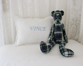 CHIC..baby pillow.. Personalized with Monogram or Name