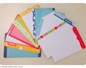 4x6 journaling cards Double sided your choice