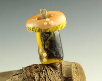 Sunnyside mushroom dread bead