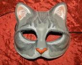 Cat Kitty Mask Gray Puss in Boots Graymalkin Halloween
