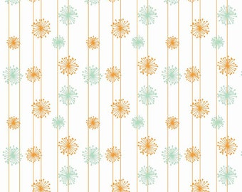 FALL SALE - Good Natured - Dandelion in Multi - Sku C4084 - 1 Yard - by Marin Sutton for Riley Blake Designs
