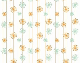 CHRISTMAS IN JULY Sale - Good Natured - Dandelion in Multi - Sku C4084 - 1 Yard - by Marin Sutton for Riley Blake Designs
