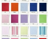 Full Duvet cover - 32 colors - essential collection - Choose your fabrics