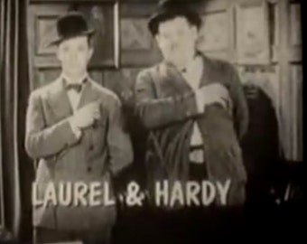 1920's Comedy Capers Laurel & Hardy 16mm Film