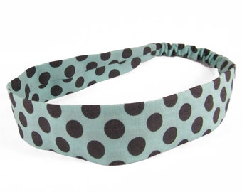 """Fabric Headband - Luna - Pick your size - fit toddlers to adults - 1-1/2"""" wide"""