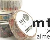 new -mt washi masking tape - designer collection - mt x almedahls